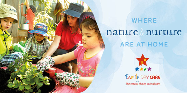Family Day Care Australia promotional banner